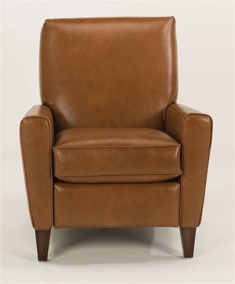 hi leg recliners flexsteel digby upholstered high leg recliner chair