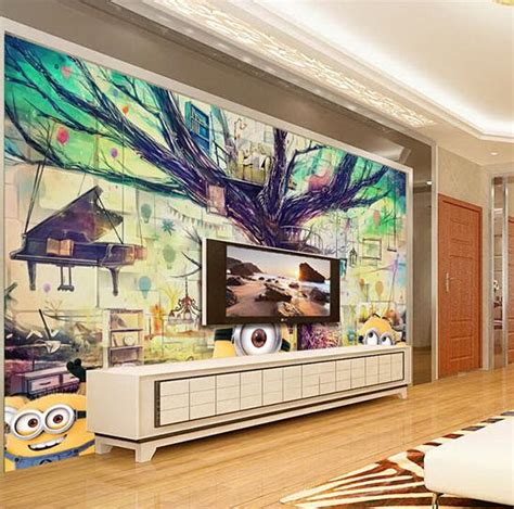 Wall Murals Superstore Aliexpress Buy Custom Any Size 3d Wall Mural