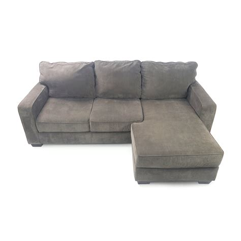 living spaces chaise sofa hodan sofa chaise ashley furniture hodan sofa chaise