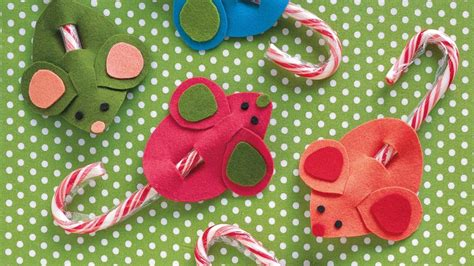 christmas crafts candy cane mice blinds 2go blog