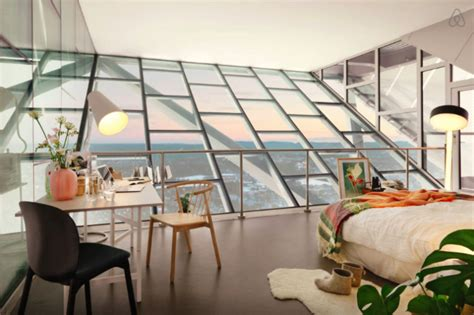 airbnb apartment a most unusual airbnb apartment located at the top of