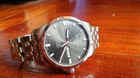 Certina C0144071105100 Automatic Swiss Made Original certina ds automatic day date c014 407 11 081 01 swiss made
