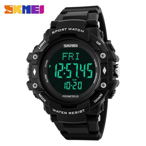 Skmei Sport Pedometer Rate Tracking Wr 30m Dg11 T0210 1 51 best skmei watches images on sport watches digital and quartz