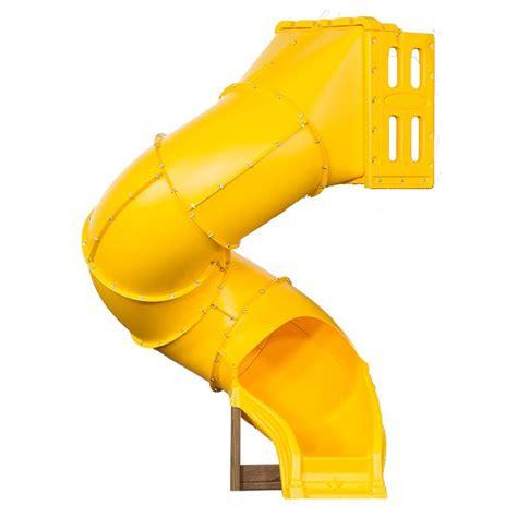 swing season tube swing n slide playsets green turbo tube slide ne 4405 t