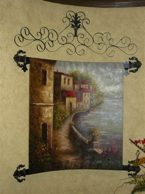 custom iron work for tapestry world tuscan