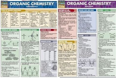 Organic Chemistry Fundamentals quickstudy organic chemistry fundamentals and reactions