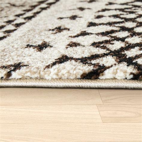 moderne kurzflorteppiche moderner wohnzimmer teppich kurzflor grafisches muster