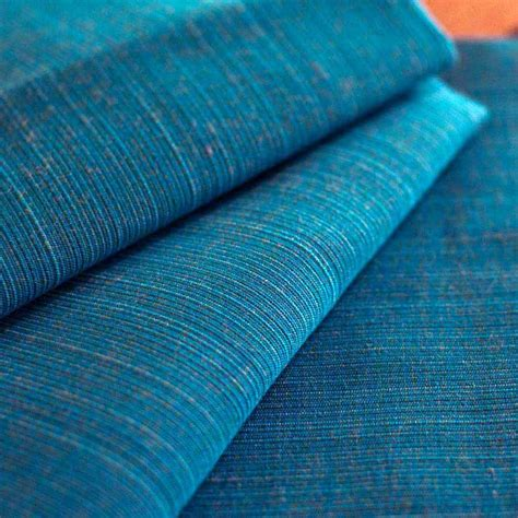 Sea Upholstery by Sunbrella 8019 0000 Dupione Sea Upholstery Fabric