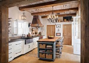 Home Styles The Orleans Kitchen Island homey country rustic kitchen by richard ourso