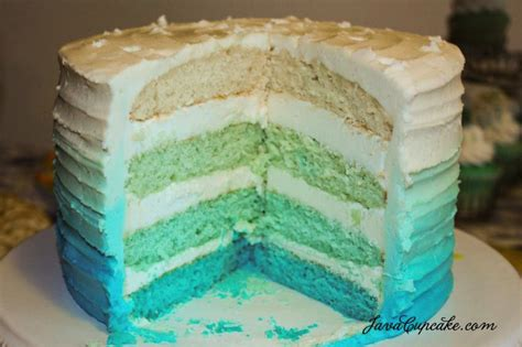 Ombre Cake Blue 8 Inspiring Ombr 233 Cakes Every Color Of The Rainbow