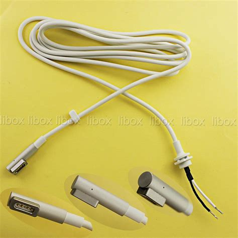 New Macbook Pro Air Charger Cables 45w 60w 85w Kabel Magsafe L Sharp charger adapter dc cord cable l macbook air pro magsafe1