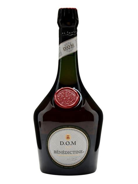 Benedictine Dom by Benedictine D O M Liqueur The Whisky Exchange