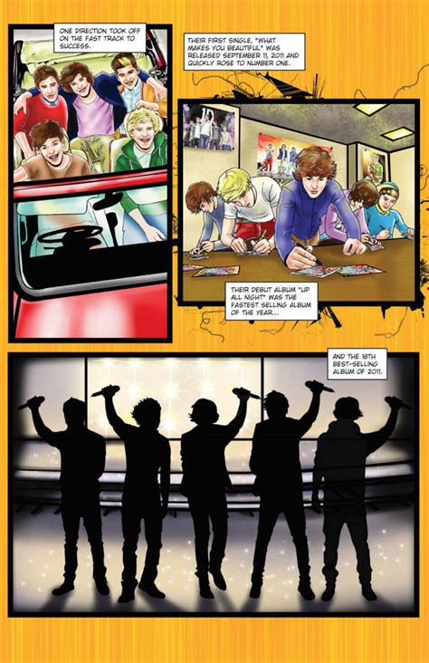 One Direction 2 one direction comic book fame one direction 2 sneak