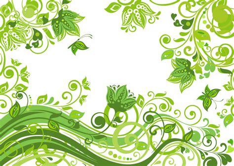 wallpaper bunga hijau グリーンフローラルな春っぽい背景素材 商用可あり eps free style