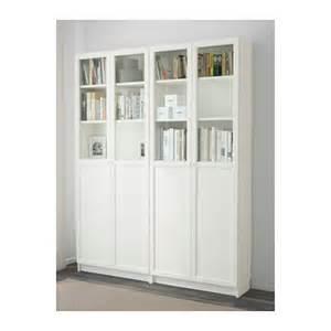 ikea billy white bookcase billy oxberg bookcase white 160x202x30 cm ikea