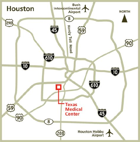 houston library map research library md cancer center