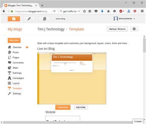 how to install or upload a template in blogger latest