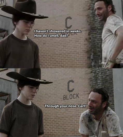 Carl And Rick Meme - carl know your meme
