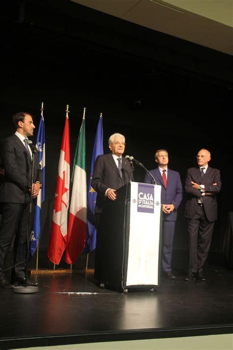 consolato generale d italia montreal il presidente della repubblica italiana a montreal