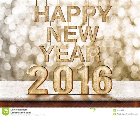 new year 2016 wood happy new year 2016 wood texture on marble table with