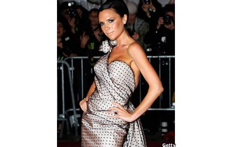 Never One To Miss A Trend Beckham In Pvc by Newsbeat Entertainment In Pictures Costume