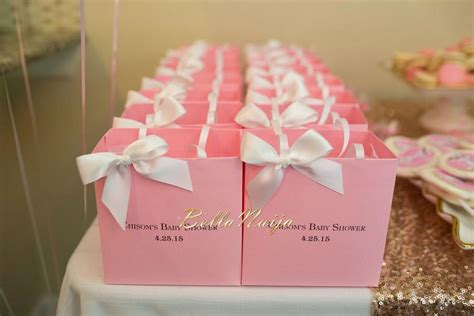 Baby Shower Pink And Gold by A Year After Their Wedding Bellanaija Catches Up With