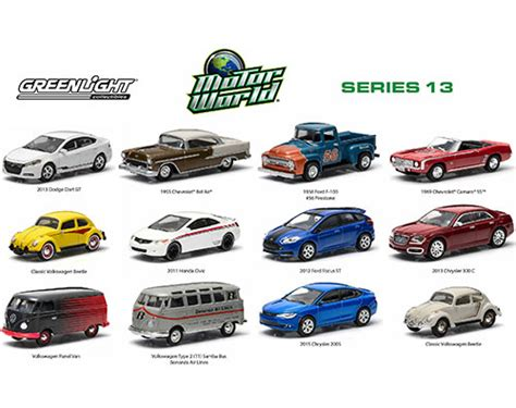 Greenlight Motor World Csite motor world diecast car series 13 96130 48 1 6 scale greenlight wholesale diecast model car