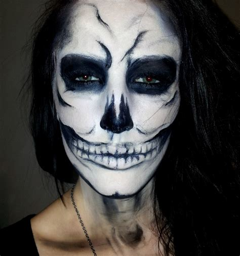 Makeup Sk Ll lynsey make up skull