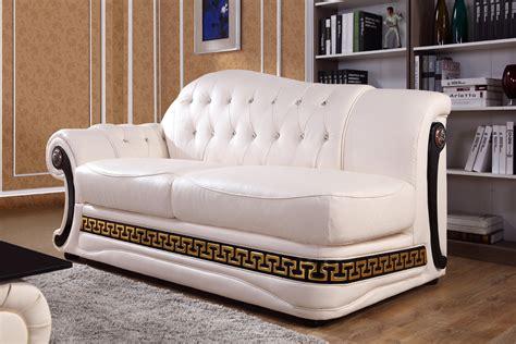 cream leather sofa set vgyi sp t377 classic cream leather sofa set