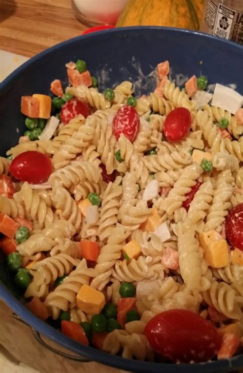 cold pasta cold pasta salad recipes sparkrecipes