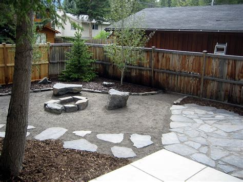 Backyard Stones Natural Style Rundle Stone Yard Morgan K Landscapes