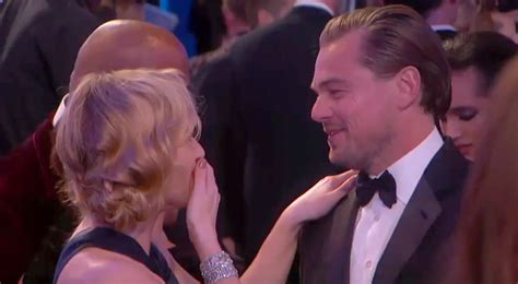 Leonardo Kate To Reunite On The Big Screen by Leonardo Dicaprio Kate Winslet Reunited At Golden Globes