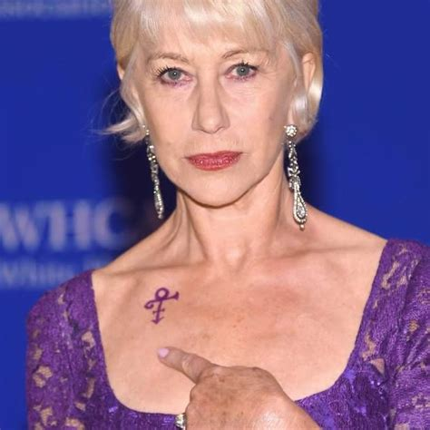 helen mirren tattoo pin selenademi on