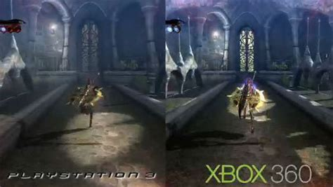 top ps3 graphics vs xbox360 bayonetta ps3 versus bayonetta 360 kotaku australia