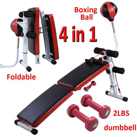 sit  bench ab abdominal crunch exercise board boxing