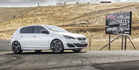 peugeot 308 gti white 2016 peugeot 308 gti review caradvice