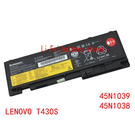 Original Baterai Laptop Ibm Lenovo Thinkpad T420s T430s T430si 66 original genuine laptop batteries for lenovo thinkpad t430s t420s batteries 45n1039 45n1038 in