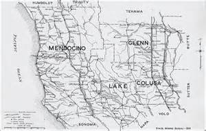 where is mendocino county in california on the map mendocino county