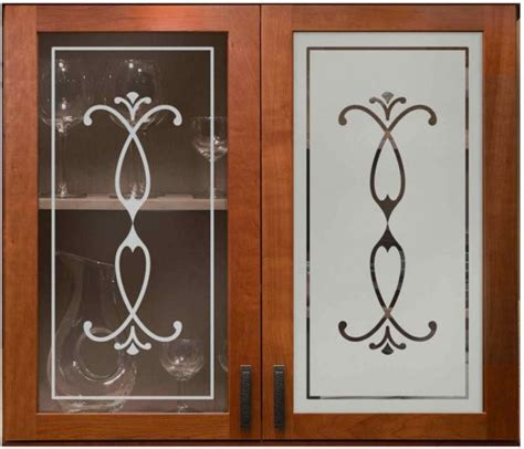 glass etching designs for kitchen etched glass windows sans soucie art glass