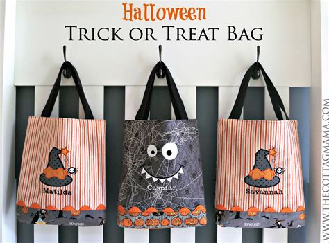 Wyldes Bag Of Tricks Treat Purse by Trick Or Treat Bag Pattern The Cottage
