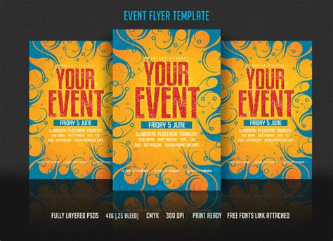 flyers for events templates event flyers 34 free pdf psd ai vector esi format