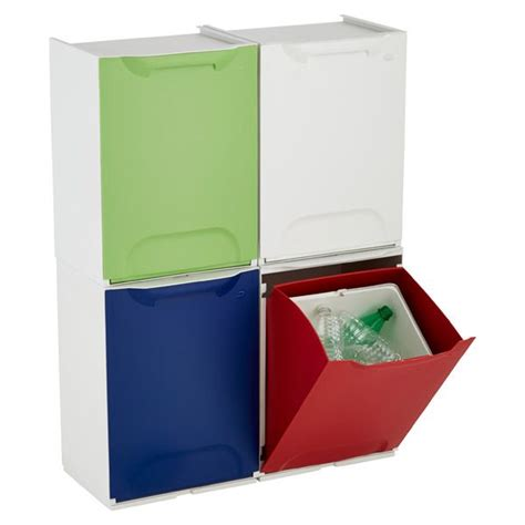 stackable recycling bins our future home