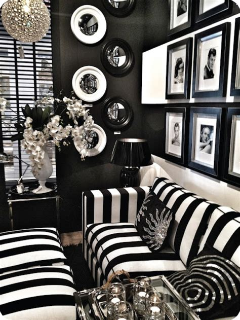 black and white decor the origins of hollywood regency modshop style blog