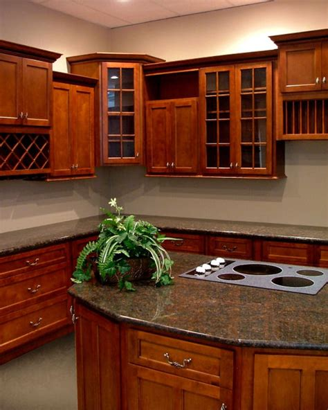 shaker cherry kitchen cabinets american cherry shaker kitchen cabinets yelp