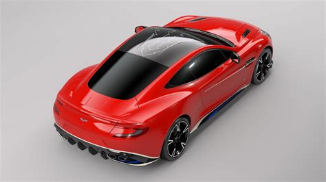 aston martin vanquish red aston martin vanquish s red arrows special edition