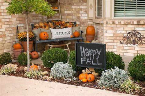 fall curb appeal ideas curb appeal fall decoration