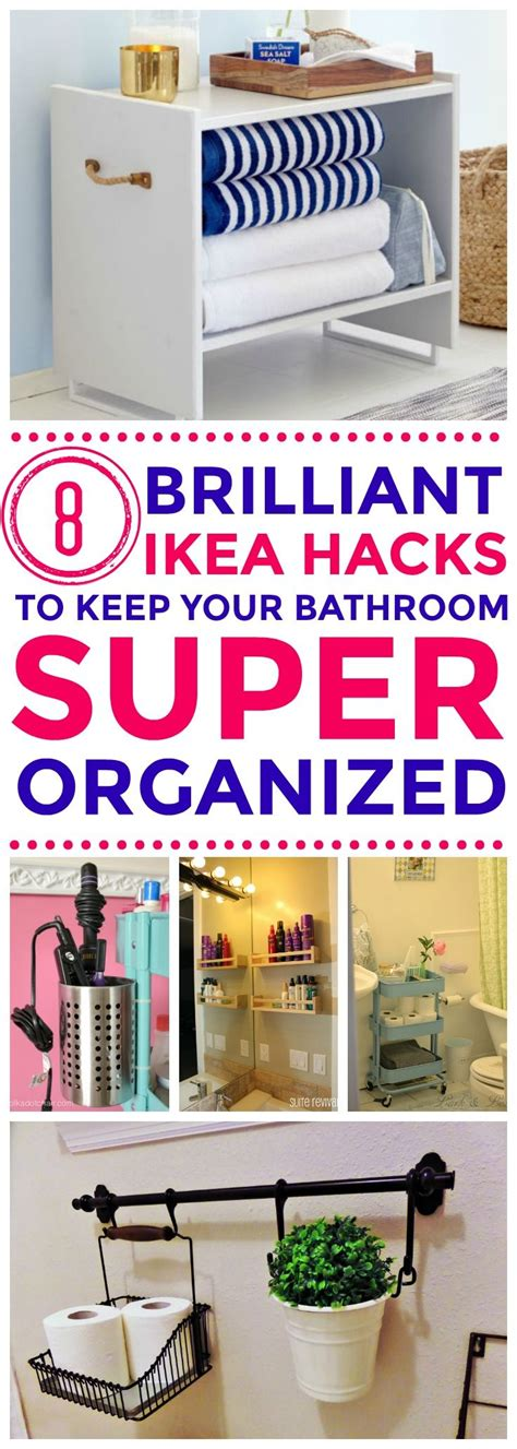 ikea organization hacks best 25 ikea hack bathroom ideas on pinterest ikea