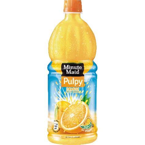Minute Pulpy Orange 1 2l smartshopper gt minute pulpy juice 1l assort