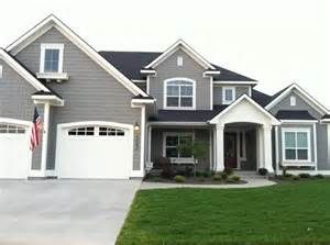 Gray Exterior Paint - darker grey roof with light grey fascia my house colour pinterest colors grey and lights