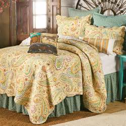 wildflower paisley bedding collection
